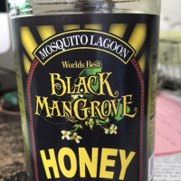 Black Mangrove Honey Made by Bees in a Remote Area