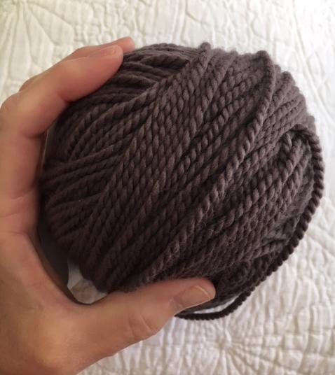 gray fig ball of yarn