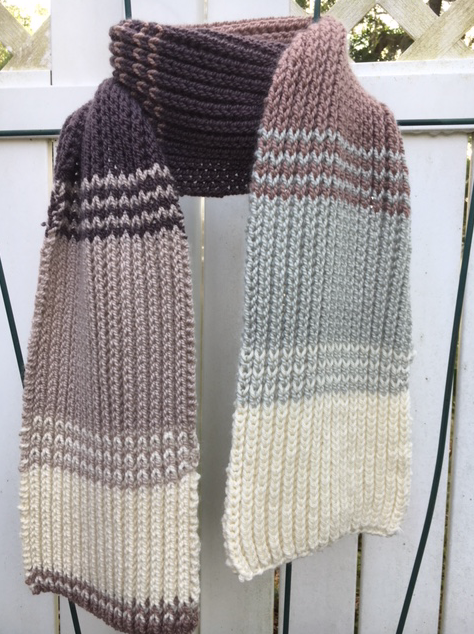 Fishermans Rib scarf
