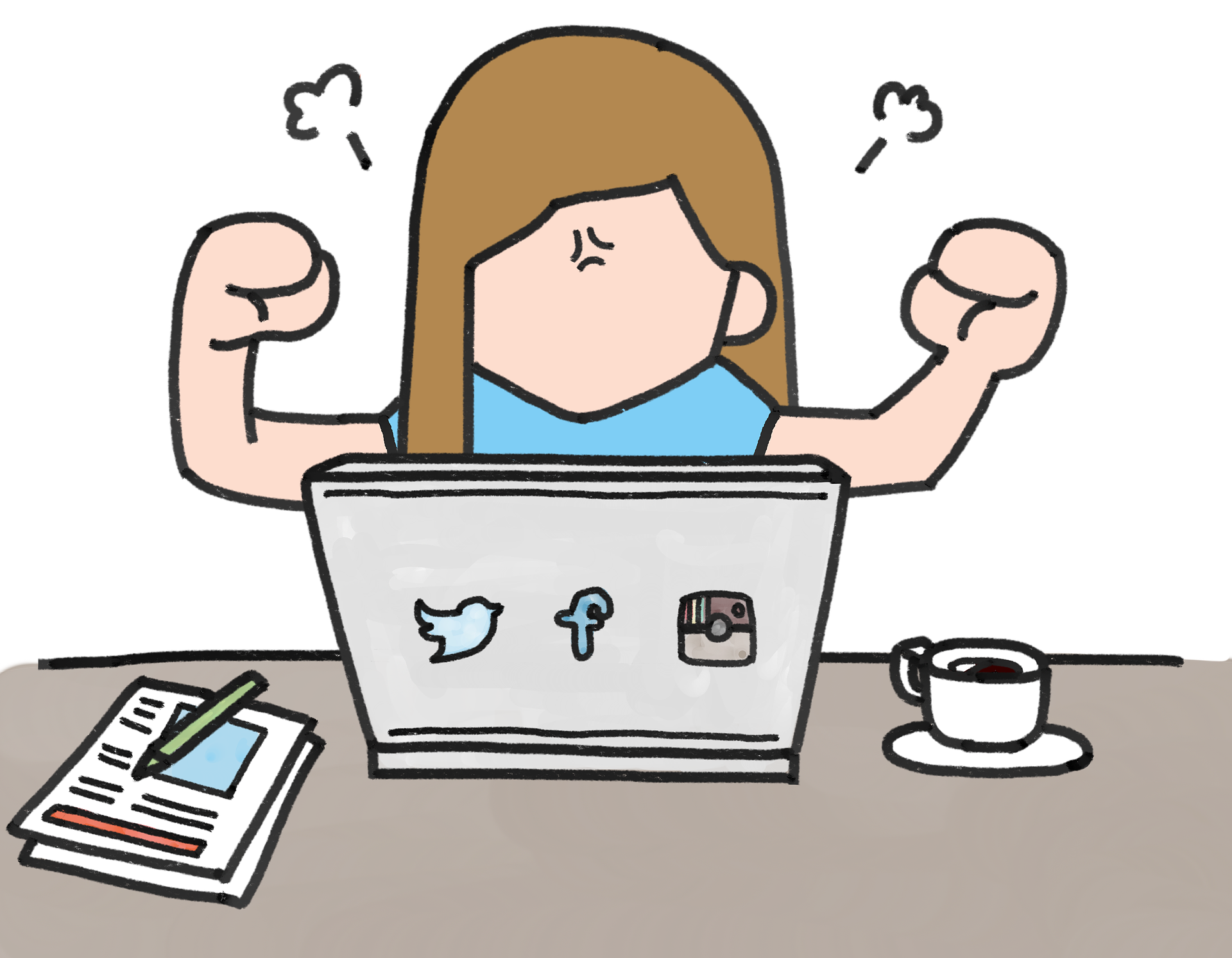 blogging, writing, online angry