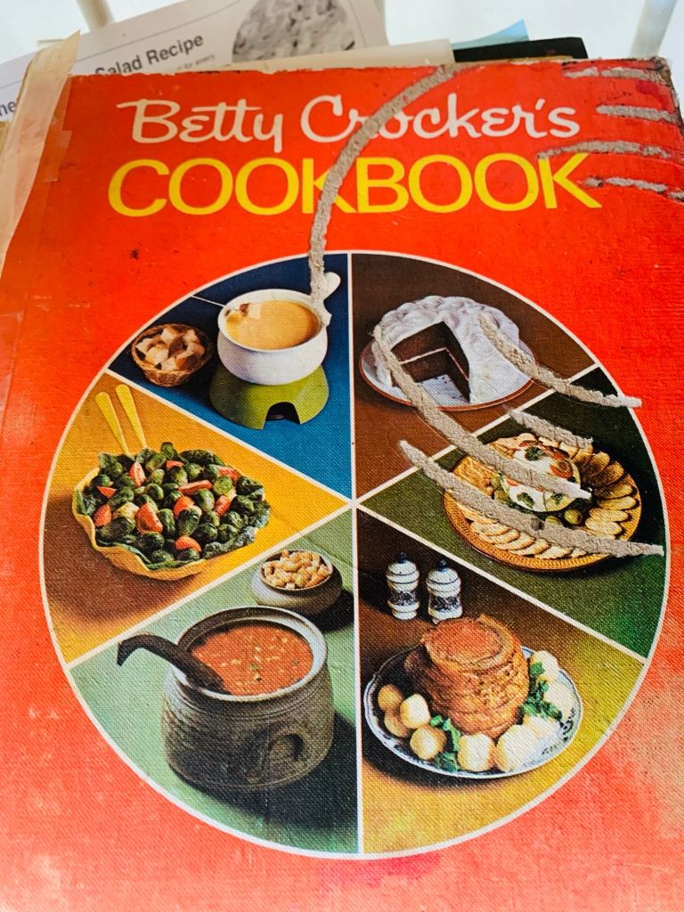 Old Betty Crocker cookbook