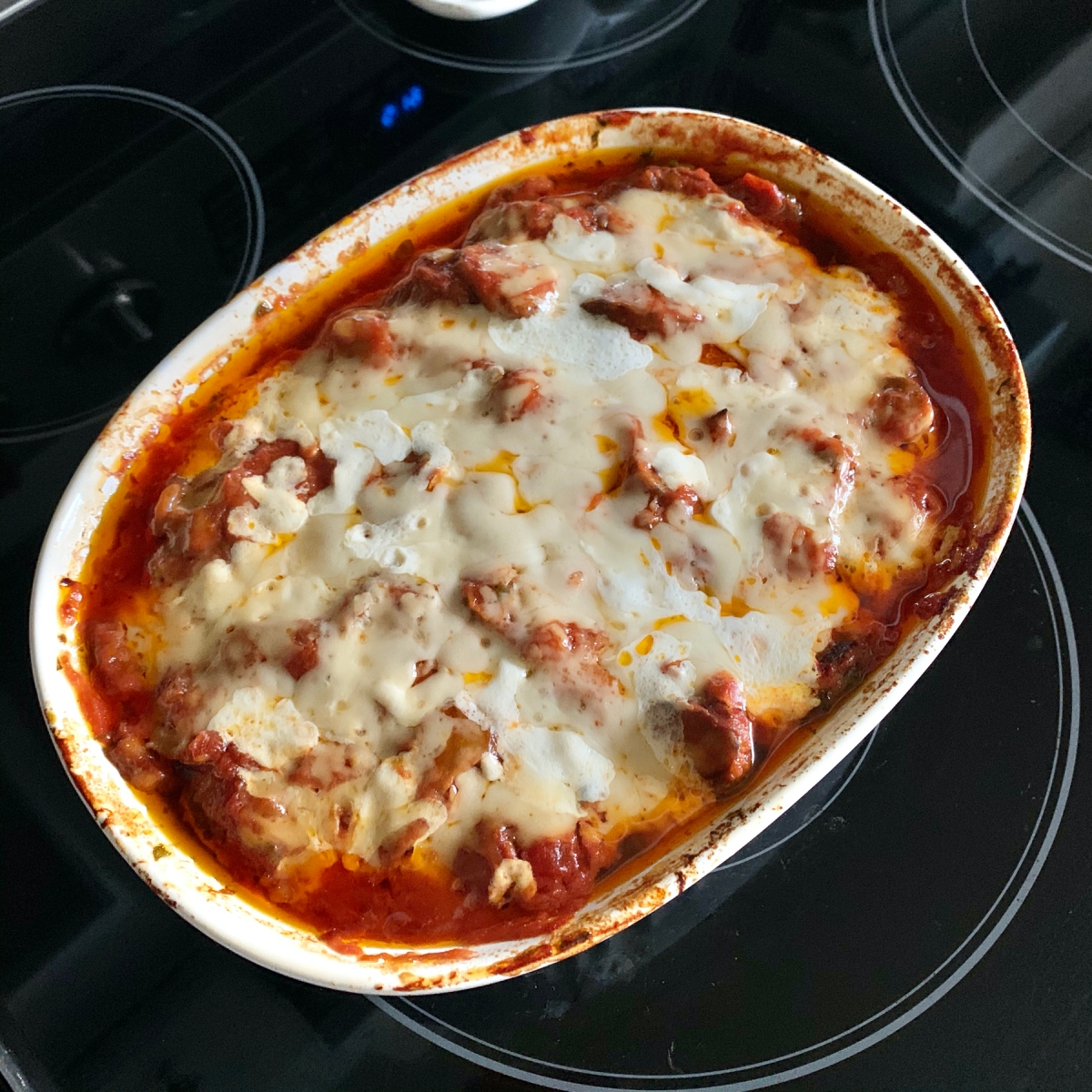 Meatball and zucchini casserole is Keto meal