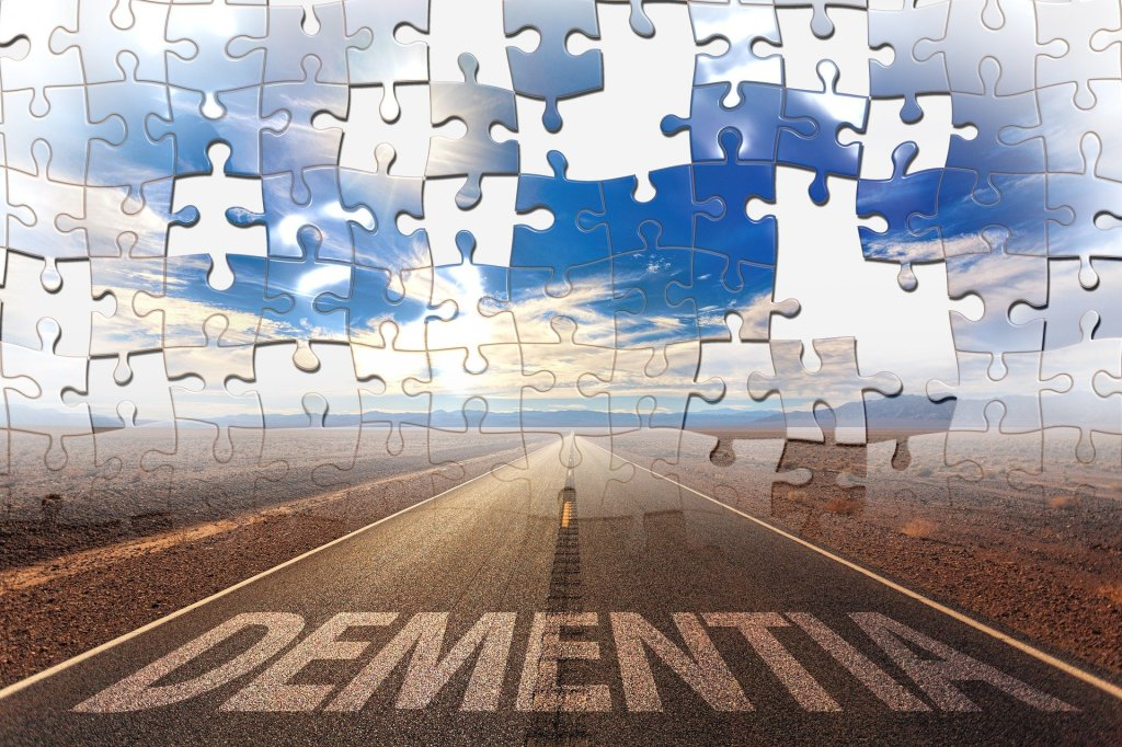 Dementia forgetting puzzle pieces missing