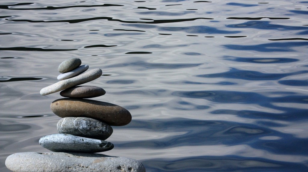 Zen stones peace